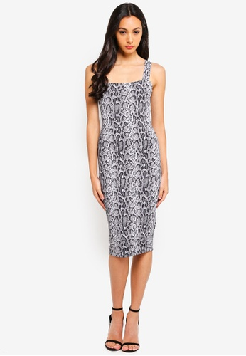 b8bb023e2607 Supre grey and multi Luxe Thick Strap Midi Dress 6156FAA27B095CGS 1