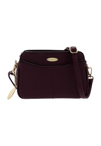 British Polo purple British Polo Classic Leather Sling Bag EDD00AC7C68600GS_1
