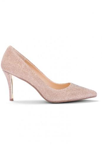 Shu Talk gold Glitter Me Elegant High Heels SH397SH0FPLBSG_1
