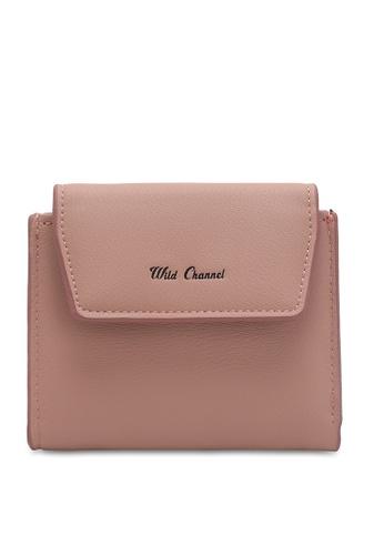 Wild Channel pink Women's Bi Fold Wallet DEB39AC9A168D1GS_1