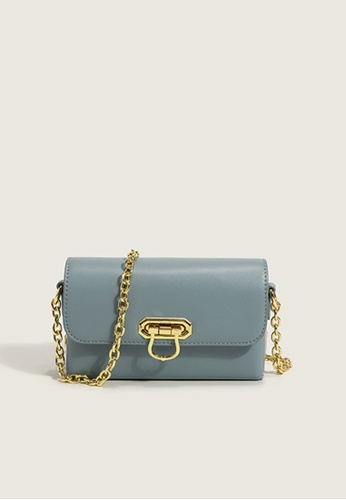 Halo blue Two Way Mini Crossbody Bag D1D4CACCDC8620GS_1