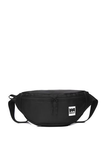 Milliot & Co. black Preston Waist Bag E696AACADE795DGS_1