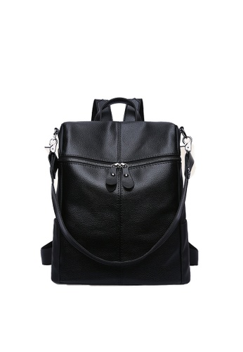 Seoul in Love black Joon Ki Two way Carry Backpack/Sling bag SE496AC07KAESG_1
