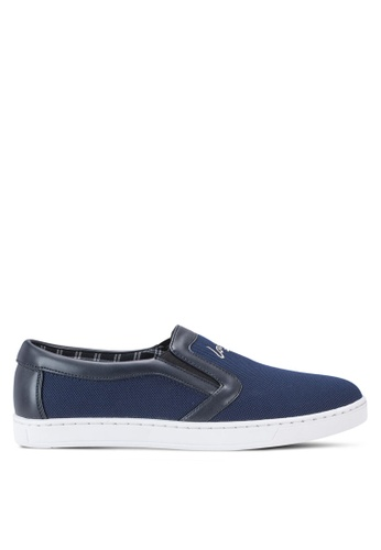 Louis Cuppers blue Casual Slip Ons LO977SH55AWEMY_1