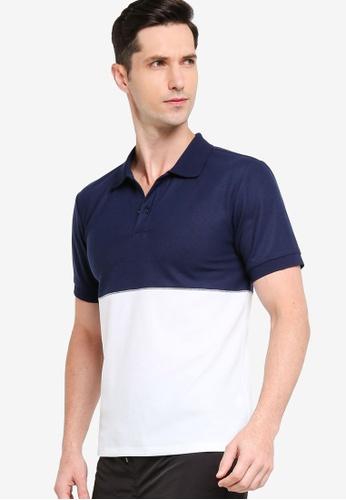 ZALORA ACTIVE multi Stripe Short Sleeve Polo Shirt DE679AA398041FGS_1