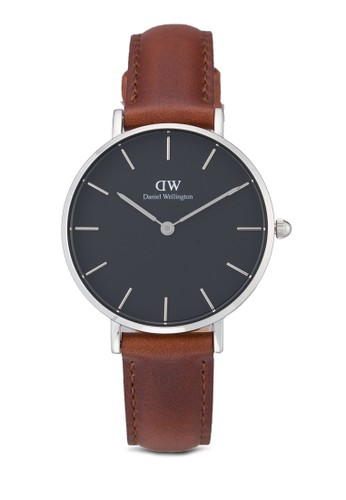 Daniel Wellington brown Classic Petite St Mawes Watch DA965AC0UKSVID_1