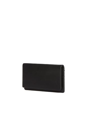 OBX black OBX Black Leather Continental wallet D6DD5AC40AB5CAGS_1