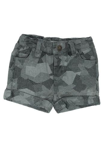 FOX Kids & Baby grey Baby Boy Shorts C7A5CKA0EB29E7GS_1
