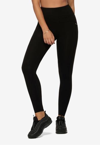 Lorna Jane black No Ride Booty Pocket Full Length Leggings 0F2B6AA82F7556GS_1