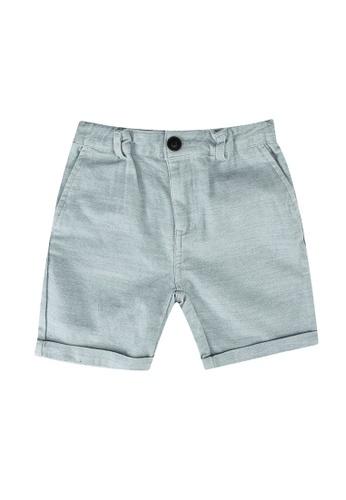 Cotton On Kids blue Flight Shorts D5A3AKAA184E76GS_1
