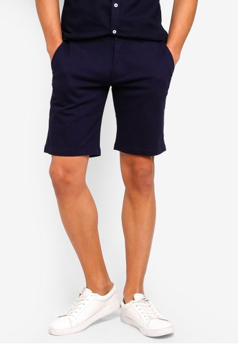 High Cultured blue and navy Short Pants - 93 FE565AA0A093E3GS_1