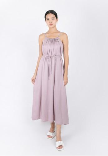 RAMUNE purple Claire Maxi Dress BA4AEAA912E34AGS_1