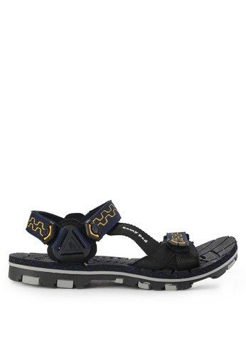 Homyped black and multi Nabire Sandal Gunung Pria 321E9SHE1A8616GS_1