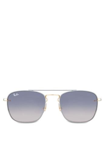 ca0fd92ed51 Buy Ray-Ban RB3588 Square Sunglasses Online on ZALORA Singapore