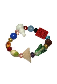 Manmico Feng Shui Lucky Charms All in One Year of the Goat Bracelet