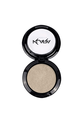 KLARA COSMETICS white Shimmer Eyeshadow #37 - Baby Pearl 8403BBEBE49DF0GS_1