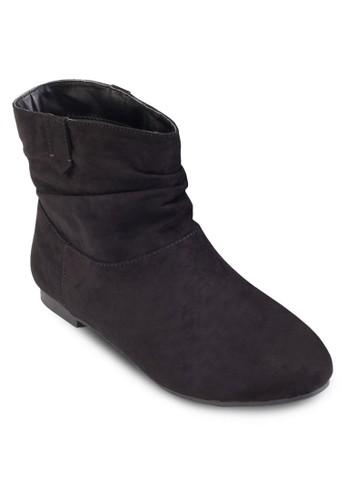 簡約仿麂皮踝靴、 女鞋、 鞋DorothyPerkins簡約仿麂皮踝靴最新折價