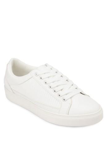繫帶平底休閒鞋, 女鞋zalora鞋, 休閒鞋