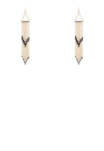 串珠鍊飾流蘇耳墜, 飾品配件,esprit分店 其他