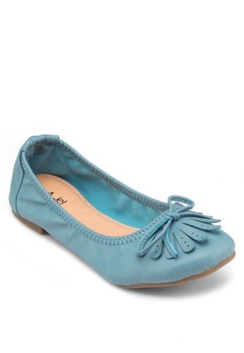 蝴蝶結流蘇平底鞋, 女鞋, esprit地址鞋