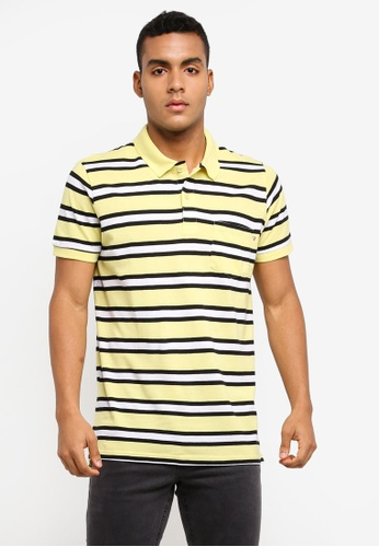 Cotton On yellow Icon Polo Shirt A82A4AAACAC50DGS_1