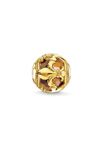 """THOMAS SABO gold Bead """"fleur-de-lis"""" C812FAC356E13AGS_1"""