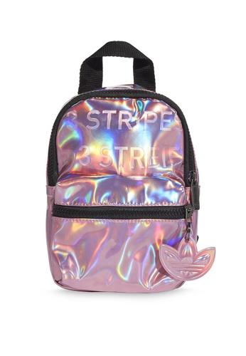 ADIDAS pink mini pu backpack 6EBDFAC7E9FC9DGS_1