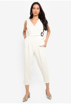 29beaa936c62 Your Choice. TOPSHOP white Buckled Jumpsuits 93953AA238A968GS 1 9% OFF  TOPSHOP Buckled Jumpsuits HK  820.00 NOW HK  748.90 Sizes 4 6 8 12