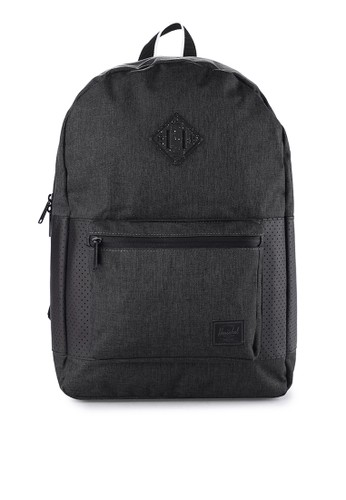 Herschel black Ruskin Backpack Aspect 9304DAC11A384DGS_1
