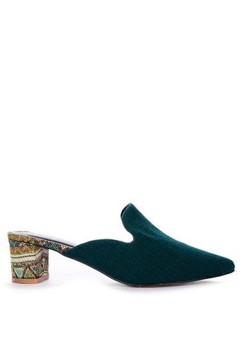 ABOUT A GIRL green Heeled Mules CC87BSHFE5B83EGS_1