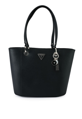 Guess black Noelle Small Elite Tote Bag A9945ACE11B019GS_1