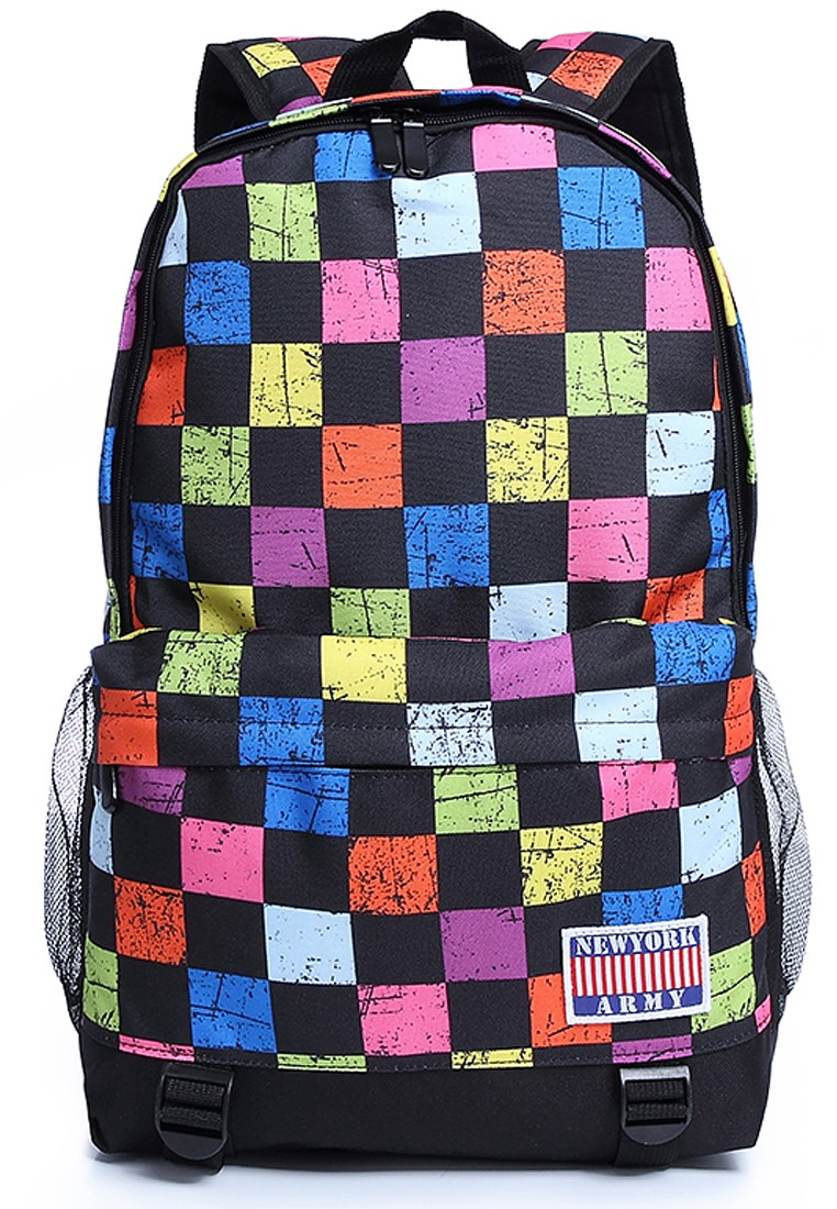 Newyork Army Retro Chess Backpack