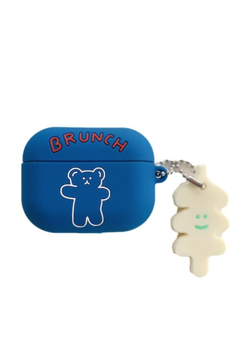 Kings Collection blue Little Bear AirPods Case (KCAC2141) 775BEACF90FFEFGS_1