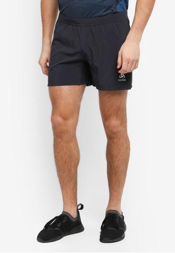 Odlo black Vigor Shorts C607CAA93BDB13GS_1