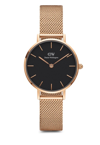 Daniel Wellington gold Petite Melrose Black 28mm Rose gold F9DFAAC1D63638GS_1