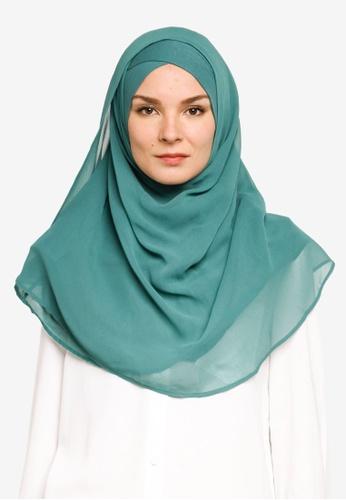 Bokitta green Apple Maxi Instant Hijab 4875FAA1A99525GS_1