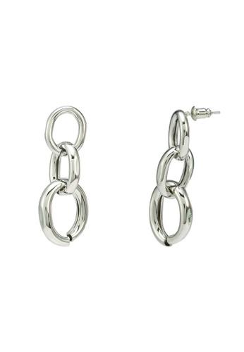 Red's Revenge silver Bold Links Dangle Earrings 77454ACEEC6072GS_1