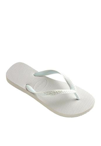 Havaianas white Top Flip Flops 1D08BSHE3FE775GS_1