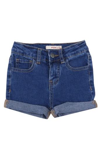 FOX Kids & Baby blue Denim Shorts 7150EKA0EE2750GS_1