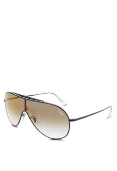 abfa5eaad7d Ray-Ban black Icons RB3597 Sunglasses 957FFGL7B25615GS 1