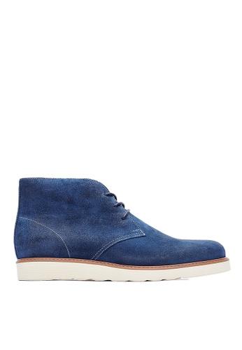 Life8 blue Formal High Cut Desert Boots-09685-Blue LI286SH0RYXVMY_1