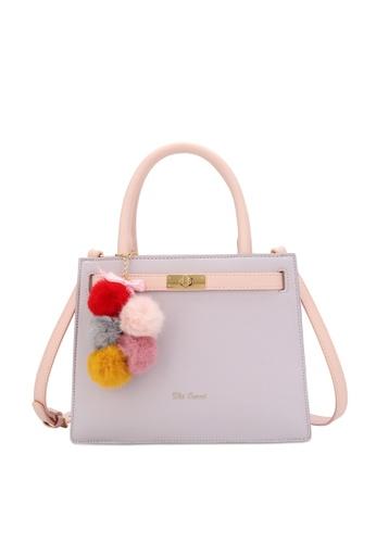 Wild Channel 紫色 Women's Hand Bag / Top Handle Bag / Sling Bag 98CC9AC3294460GS_1