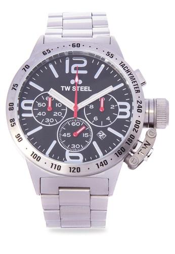 TW Steel silver CB7 Canteen Bracelet Analog Watch TW310AC0KMAYPH_1