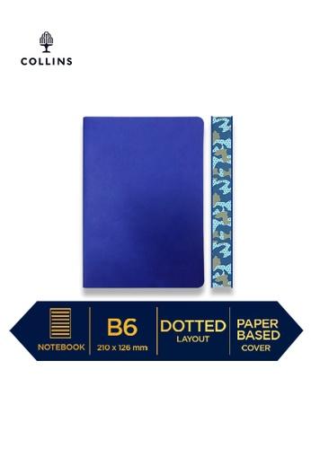 Collins purple Collins Edge Camo  ─  Notebook B6 Dotted Indigo 1D822HL6DA8A7CGS_1