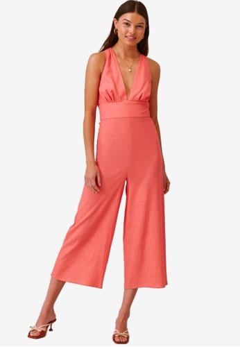 Finders Keepers pink Sally Pantsuit 5CF9AAA83606CEGS_1