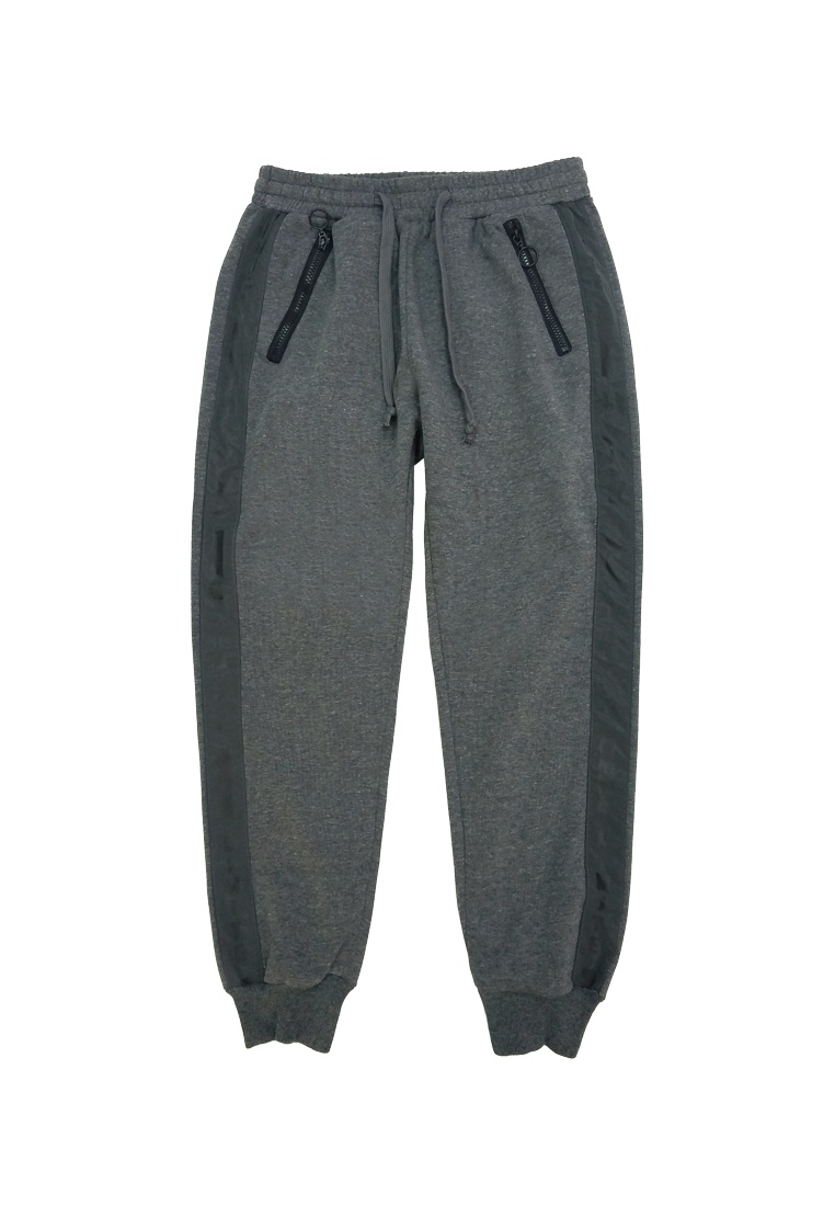 Trim I fabric 3M T Grey Pants with I E Sweat Printed M L dnnFTz