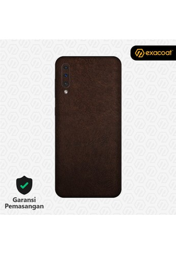 Exacoat Galaxy A50 / A50s 3M Skins Leather Series - Leather Brown 56666ESD8D567CGS_1