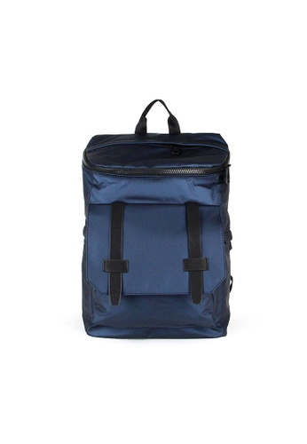 Alef blue Alef Featherweight Backpack in Blue 93EBDACE4076F9GS_1