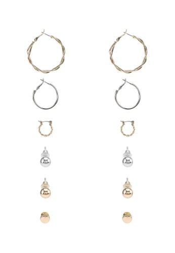 ALDO multi Rhibeth Pierced Earrings 35E0AAC31B76F5GS_1