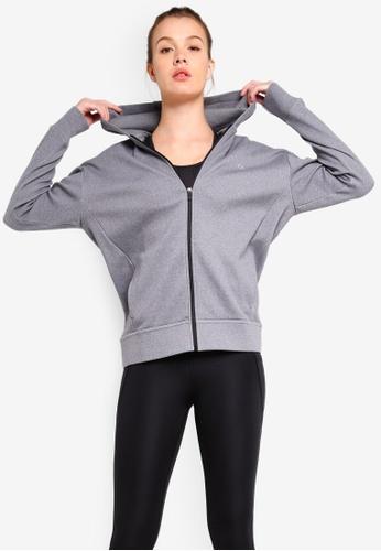 Calvin Klein grey HD Modular Sweater Jacket - Calvin Klein Performance 7787AAAC125382GS_1